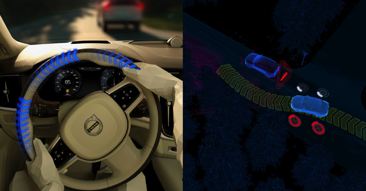 Tehnologia City Safety: funcționalități pentru evitarea coliziunilor